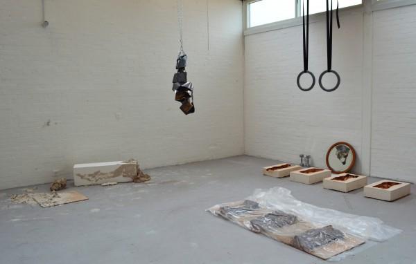 Ali Summer Studio box (2) & box (3) Becoming & gym rings